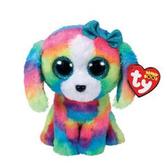 TY BEANIE BOO BOOS LOLA THE POODLE CLAIRES EXCLUSIVE MWMT 6 INCHES CUTE fe2a769491f8
