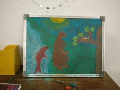 F and B Fish and Bear Story :The willow wren and bear