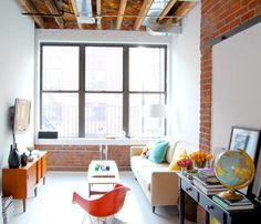 smallrooms . http://emfurn.com #mid-century furniture  mid-century chair  #glamour  #fashion -  girl  #Dream