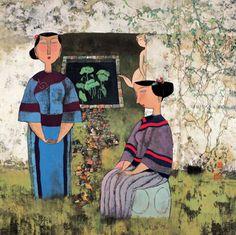 GARDEN IN GARDEN, Hu Yongkai (male, 胡永凯; b1945, Beijing)