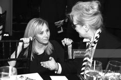 Actors Lisa Kudrow (L) and Meryl Streep attend American Film Institute's 45th Life Achievement Award Gala Tribute to Diane Keaton at Dolby Theatre on June 8, 2017 in Hollywood, California.