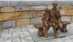 Abraham Lincoln statue in Richmond Virginia