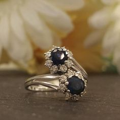 Vintage Two Stone Two of Us Ring
