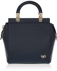 Givenchy Small House de bag in navy leather on shopstyle.com