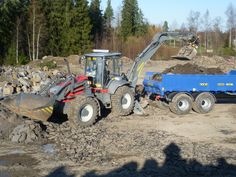 Reijo Havina & Lännen 8600G  #Lannen #Lännen #backhoe #machine #municipal_works #infra