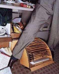Lars Tunbjörk, de la série Office, New York, 1997 (Œuvre exposée par : Vu')