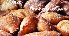 Grandma's fire sparrows – crispy lard pastries for Mardi Gras fashion kitchen Mardi Gras, Old Recipes, Pretzel Bites, Biscuits, Bakery, Food Porn, Food And Drink, Sweets, Bread