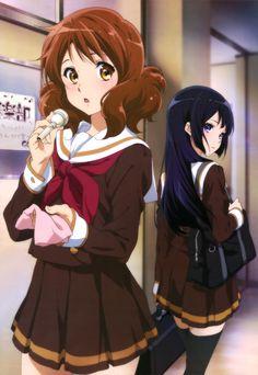 Hibike! Euphonium | Takeda Ayano | Kyoto Animation / Oumae Kumiko and Kousaka Reina