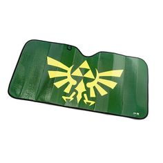 Perhaps the easiest way for Zelda fans to keep their cars and trucks cool during the hot summer would be to stick this awesome Legend of Zelda Hylian Crest sunshade in their windshields!