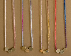 simple and sweet necklaces