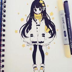Yoaihime's drawing