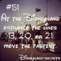 Disneyland Secrets. I doubt this one, but it would hurt to try next time.