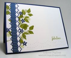 CAS177 Summer Silhouettes by LeAnne Pugliese - Cards and Paper Crafts at Splitcoaststampers