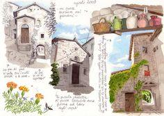 Carnet de Voyage on the Appennino Tosco Emiliano by Marina Cremonini