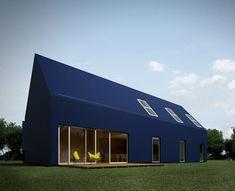 It's a plastic house!