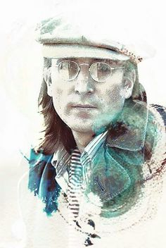 Amazing artwork by Bob Smerecki John Lennon Yoko Ono, Imagine John Lennon, Beatles Art, The Beatles, Beatles Photos, Great Bands, Cool Bands, Pop Art, Paint Photography