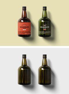 Rum Bottle Mockup — Mr.Mockup | Graphic Design Freebies