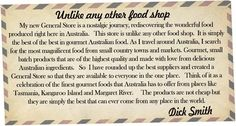 Dick Smiths General Store...the best of the best in gourmet Australian food. great-initiatives