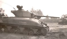 Rare photo of tank named IN THE MOOD belonging to 3rd Armored Division's, Lafayette Poole, Americas top tank ace of all time. He attained 270 confirmed vehicle kills.