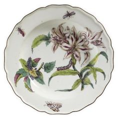 Chelsea porcelain 'Hans Sloane' botanical, circa 1755 - Eloge de l'Art par Alain Truong