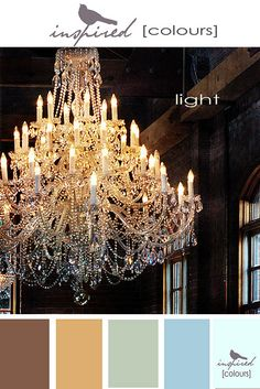 Light - inspired color palette by inspired by..., via Flickr