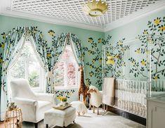 How Designer Dina Bandman Turned a Bland Nursery Into An Italian Escape Baby Nursery, Room, Nursery Design, Home, Degournay, Interior Design