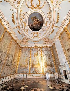 """""""The 18th-century Chinese Palace at Oranienbaum, near St. Petersburg, Russia, is one of the world's great decorating wonders."""" - Veere Grenney"""