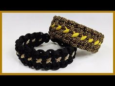 "Paracord Bracelet Tutorial: ""Dotted Line"" Bracelet Design Without Buckle - YouTube"