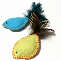 Cat toys for an animal shelter