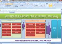 [.xls otomatis] Software Raport Kurikulum 2013 SD Kelas 4 Semester 1 Versi Terbaru Aplikasi Excel Free Download