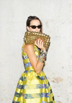 fab and glam High Fashion, Fashion Beauty, Womens Fashion, Fashion Trends, Looks Style, Style Me, Style Blog, Mellow Yellow, Dress Me Up