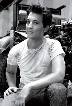 Miles Teller. I really don't know what it is about him, but I think he's so hot.