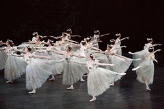 Artists of the Ballet in Giselle (2009). Photo by Bruce Zinger.