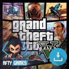 Grand Theft Auto V [GTA 5] - PC Game - Rockstar Social Club Download Code - Global CD Key Grand Theft Auto Games, Grand Theft Auto Series, Game Gta 5 Online, Gta Online, Gta 5 Pc Game, San Andreas Game, Gta V Cheats, Gta 5 Mobile, Play Gta 5