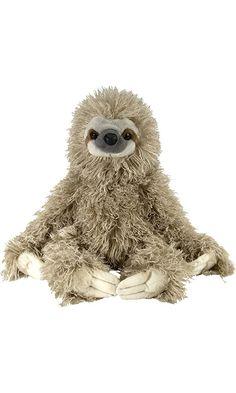 "Wild Republic Cuddlekin Three Toed Sloth 12"" Plush Best Price"