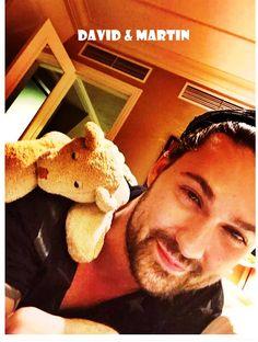 David in Vienna with Martin