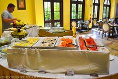 Breakfast buffet in Bayside