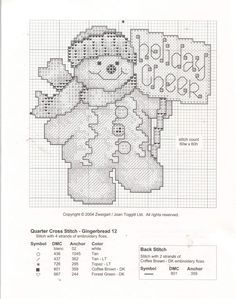 Gingerbread man in ccs