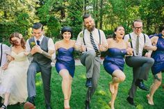 Love the feel of this wedding, and the grey vest is perfect!