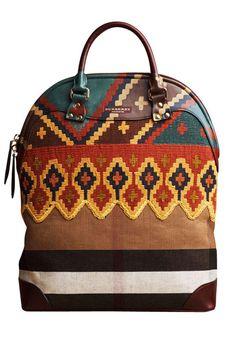 Burberry Prorsum bag, $3,195, Similar styles available at shopBAZAAR.com.   - HarpersBAZAAR.com