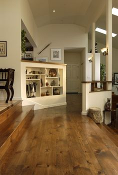 white pine floors  love these floors!!