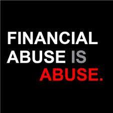 #FinancialAbuse #Money #Women #Finances #Independent #DomesticViolence #October #AwarenessMonth