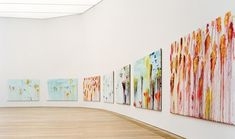 Cy Twombly, the battle of Lepanto - MUSEUM BRANDHORST (Munich). a series of 12 gigantic canvasses, which depict the 1571 Battle of Lepanto.