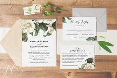 Wedding Invitation template printable Editable by banofipaperco