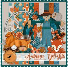 Graphic Groupies: Autumn Delights Scrap Kit