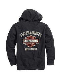 Harley Davidson® Men's Bar and shield logo hoodie 99083-14VM.
