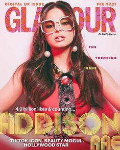 TikTok Star Addison Rae Opens Up About Success, Mental Health, Trolls & TikTok Sisterhood | Glamour UK Hollywood Icons, Hollywood Star, Netflix, Pearl Bar, Glamour Uk, Glamour Magazine, Sunglasses Online, Prada Sunglasses, Oversized Sunglasses
