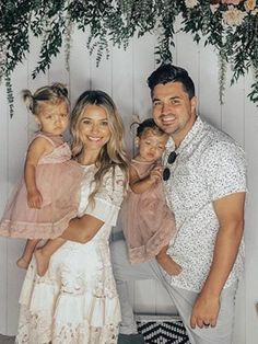 Cute Twins, Cute Baby Girl, Cute Babies, Baby Twins, Cute Family, Family Goals, Big Family, Little Sister Pictures, Tatum And Oakley