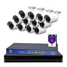 Wireless home security systems Ip Security Camera, Home Security Tips, Wireless Home Security Systems, Security Surveillance, Security Cameras For Home, Security Alarm, Bullet Camera, Ip Camera, Video Camera