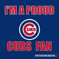 I'm A Proud Cub Fan